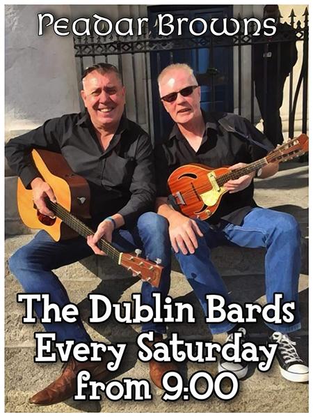 Dublin Bards at Peadar Browns