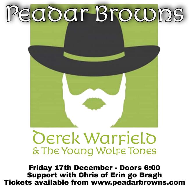 Derek Warfield at Peadar Kearneys