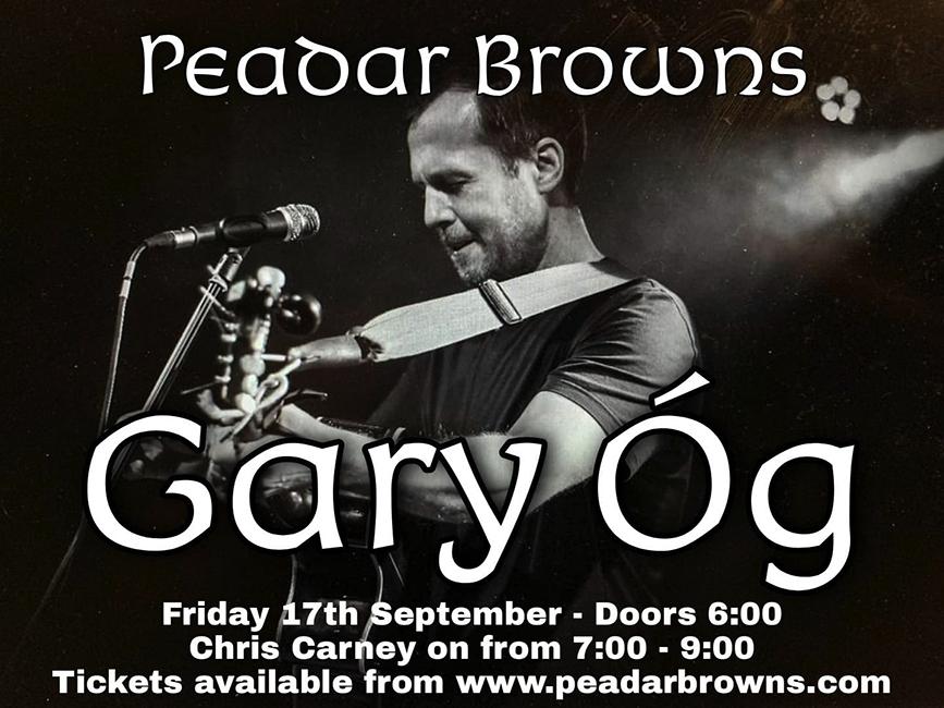 Gary Og at Peadar Kearneys